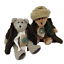 thumbnail 4 - Boyds-Vintage-Aunt-Bessie-and-Skidoo-Plush-Retired-Bears-1990-039-s