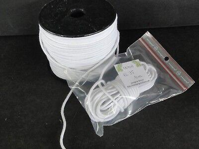 Accurato 3.5mm (10 Metri) Elastico Carica Cotone Per Bambola- Stringing Elastico Costo Moderato