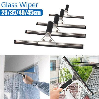 Glass Window Cleaning Squeegee Blade Wiper Cleaner HomeShower Bathroom 25-45CM