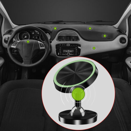 1x 360° Magnetic Car Dashboard Phone Holder Mount For Cellphone GPS WX