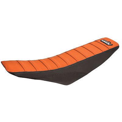 Attack Graphics Pro Series Gripper Seat Cover Orange/Black KTM 125-500 2011-2014