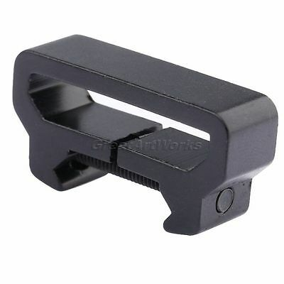 Compact Sling Attachment Dovetail for 20mm Rail Mount Weaver Picatinny Adapter