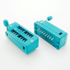 2 Pcs Zif 16 Pin 16 Pins Test Universal Ic Socket 16 Pin Dip
