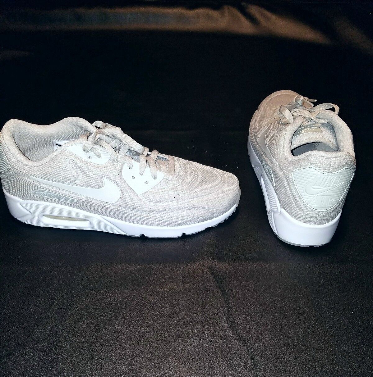 Brand new Nike Air Max 90 Ultra 2.0 BR Grey Pale Grey Size, 13 w box MSRP  130