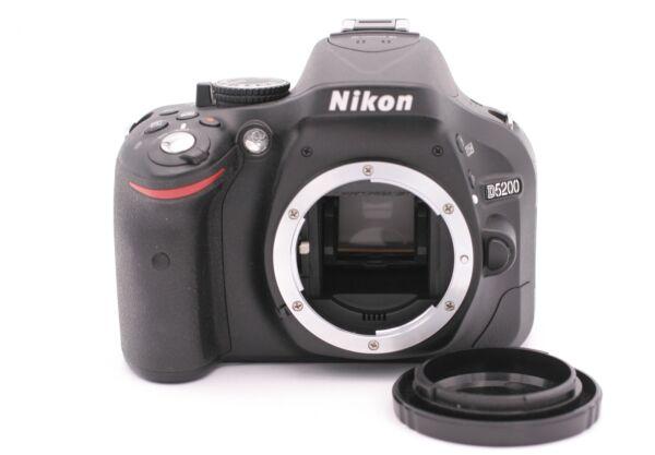Nikon D D5200 24.1mp Caméra Slr Numérique - Noir (corps Seulement) - Obturateur
