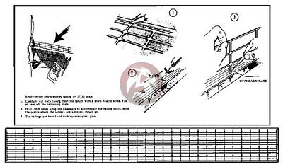 Verlinden 1//350 Ship Railing 67