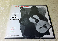 "WOODY GUTHRIE (LP) ""BOUND FOR GLORY"" [1972 SPAIN FOLKWAYS FA 2481 ""BOB DYLAN""]"
