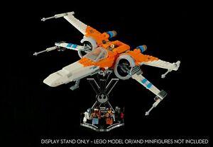 Display-Staender-abgewinkelt-Steckplaetze-fuer-Lego-75273-PoE-DAMERON-den-X-Wing-Fighter-a1061