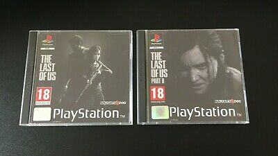 The Last Of Us Part 2 Ps4 Fan Custom Playstation Ps1 Style Covers No Case Ebay