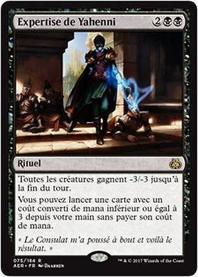 Yahenni/'s Expertise//Expertise de Yahenni MTG Magic AER French//VF