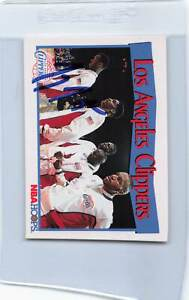 1991/92 Hoops #285 Gary Grant Clippers Signed Auto *F2741