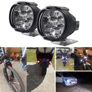 6LED-moto-Faro-luci-Spot-testa-lampada-LED-DC12V-anteriore-guida