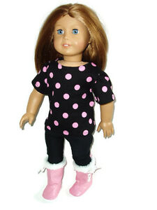 Shirt-n-Leggings-Outfit-with-Boots-fits-American-Girl-18-inch-doll-clothes