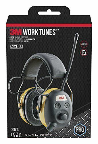 Peltor Worktunes Digital AM FM MP3 Radio Headphones Ear Muffs Hearing Protection