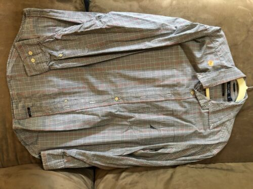 Men's Dress Shirts (3), 1 Tommy Hilfiger, 2 Nautic