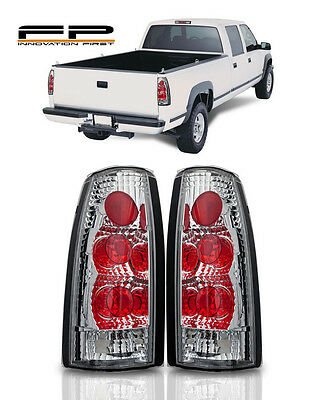 2 Pack Taillights Tail Lamp for 1988 Chevy Silverado 1995 z71 1997 C1500 K1500