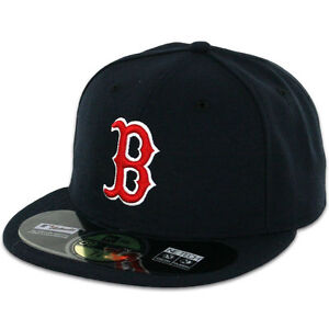 Details about Boston RED SOX GAME Home New Era 59FIFTY Fitted Caps MLB AC  On Field Hat 1ccdcad18eb
