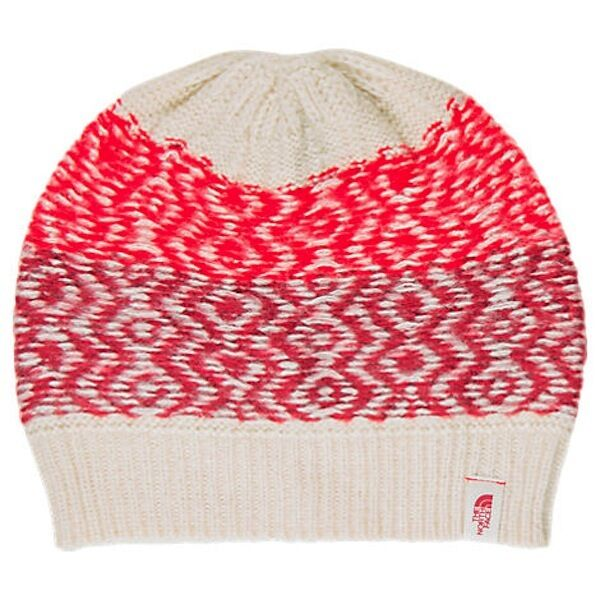 a39f2a1de1c The North Face Tribe N True Beanie Vintage White biking Red for sale online