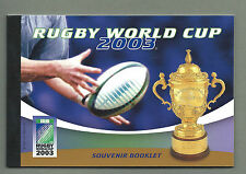 AUSTRALIA 2003 SOUVENIR Prestige Booklet - RUGBY WORLD CUP - Complete - MNH