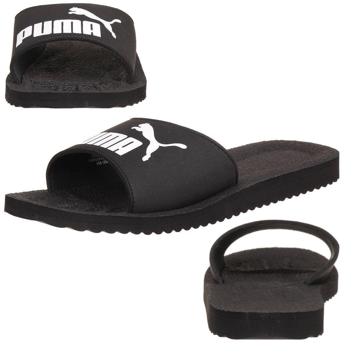 Puma Purecat Unisex-Erwachsene Sandalen Badelatschen Badelatschen Badelatschen schwarz 4d9dc8