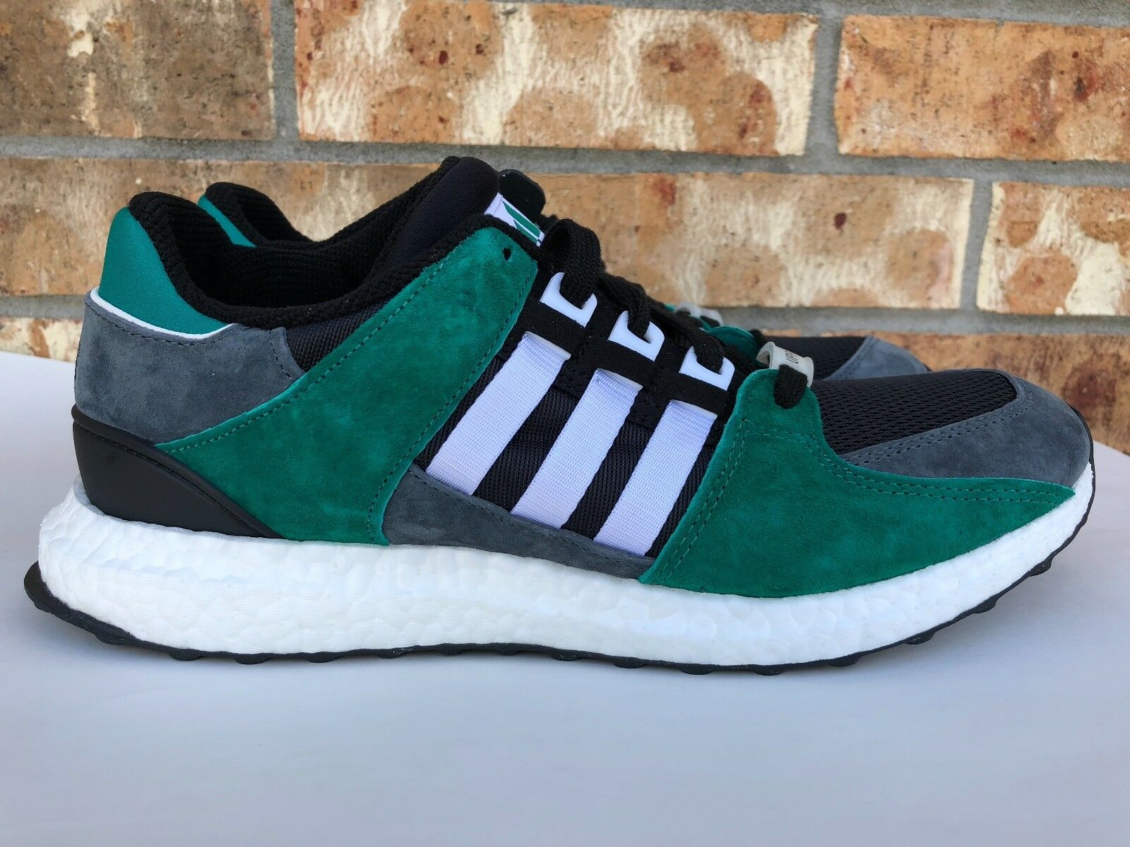 Men's Adidas EQT Support 93/16 Boost Size Green Black White Grey Size Boost 9.5 S79923 bb6dc1