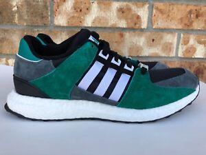 e08d6985d2db3 Men s Adidas EQT Support 93 16 Boost Green Black White Grey Size 9.5 ...