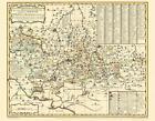 Historische Karte: Ämter Stolpen, Radeberg und Lausitz, 1754 (Plano) von Peter (der Jüngere) Schenk (2013, Mappe)