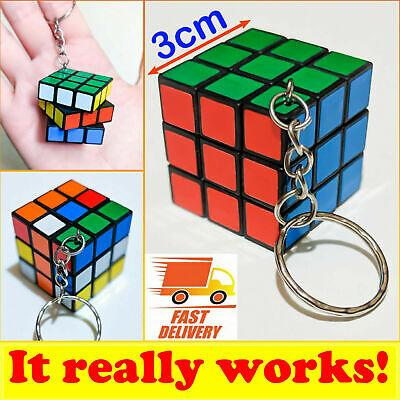 Acquista A Buon Mercato Portachiavi Gioco Reale Cubo Di Rubik Cube Game Keyring Keychain Really Work Box Delizie Amate Da Tutti