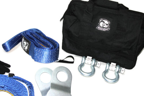 7-Piece 6700lb Value Kit w//Storage Bag 8030102 NEW Winch Rigging Kit