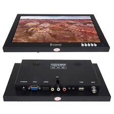 "10"" TFT LCD HD Touch Screen CCTV Monitor HDMI VGA AV BNC For PC Restaurant SY"