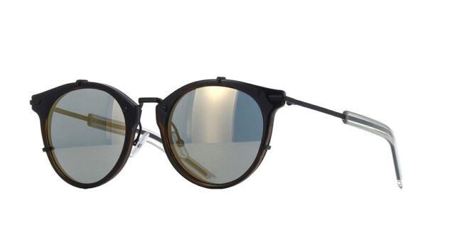 27c680f5d99 Christian Dior Homme Sunglasses Dior 0196s Fnkmv 48 Havana Matte Black Blue