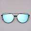 Sonnenbrille Cateye Schwarz Damen Retro Verspiegelt Katzenaugen Vintage