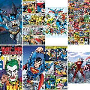 Image Is Loading NEW 1 WALL MURAL MARVEL DC COMICS BATMAN  Part 35