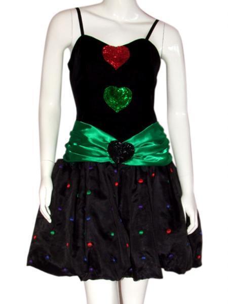 Vestido de fiesta años 80 / Dress party 80s. VINTAGE
