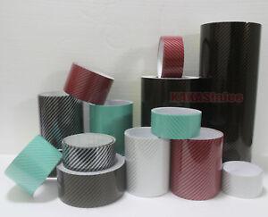 CF Multi-function Black 2D Glossy Texture Carbon Fiber Vinyl Tape Wrap Sticker