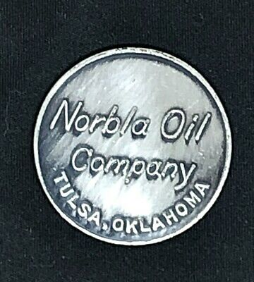 MEDAL- INT/'L PETROLEUM EXPO 1959 TULSA BW-749 ALLIED BEARING SUPPLY CO OK