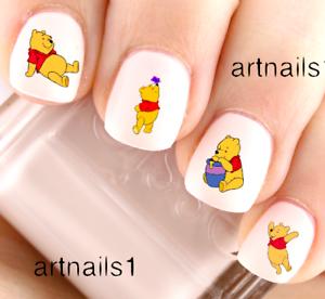Disney-Winnie-the-Pooh-Bear-Nail-Art-Water-Decals-Stickers-Manicure-Salon-Polish