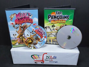 Details about Madly Madagascar, & The Penguins of Madagascar DVD Movies