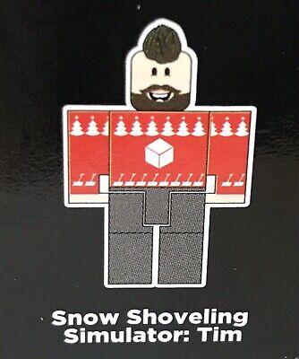 New Roblox Purple Celebrity Series 3 Snow Shovelling Simulator