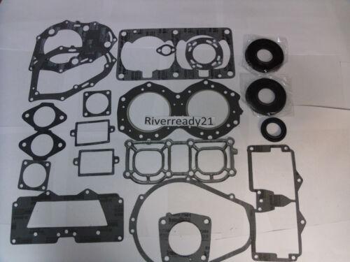 Yamaha 701 61x Gasket-kit-Set Wave-Runner-Blaster Super-Jet Comp W// Crank-Seals