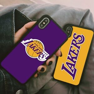 6b2d7217d123c0 Los Angeles Lakers Basketball Silicone Case Cover For iPhone 6 7 8 X ...