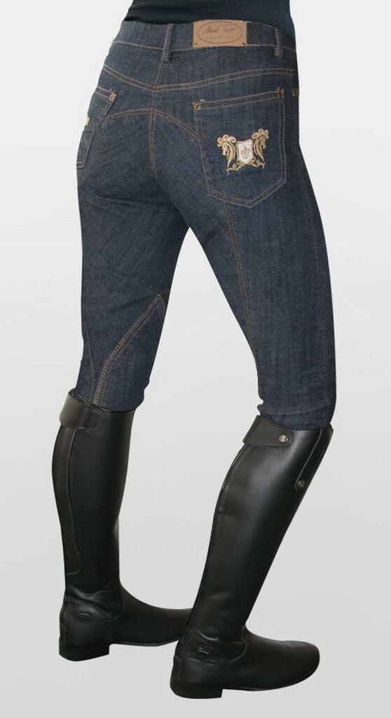 Mark Todd Ladies Skinny Jeans Breeches Denim bluee Clearance  RRP .50  order now lowest prices
