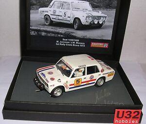 Scalextric Passion Sp025 Seat 1430/1600 #5 3º Rally Costa Brava 1972 M.juncosa