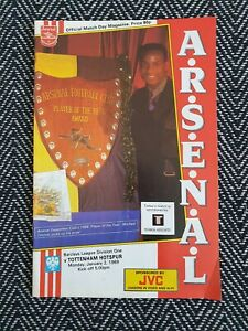 Arsenal-v-Tottenham-1989-First-Division-2-1-89-FREE-UK-POSTAGE-LAST-ONE