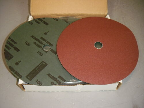 Norton 33860 F226 Metalite FIbre LF 100 Grit Abrasive Disc 9-1//8 x 7//8 x 2 Discs