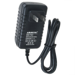 AC//DC Power Charger Adapter For Wow Wee Cinemin Swivel Multimedia Projector 8410