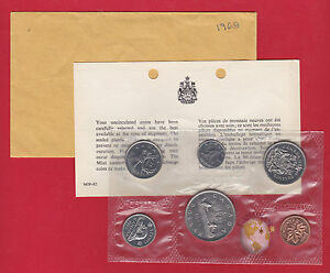 1968 - Pl Set - Canada RCM Proof Like Mint - With COA + Envelope- Free Shipping