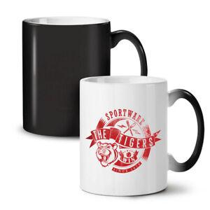 Sportware Tiger NEW Colour Changing Tea Coffee Mug 11 oz | Wellcoda