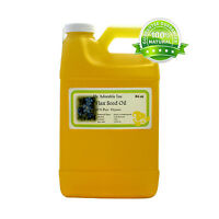 64 Oz/half Gallon Organic Flax Seed Carrier Oil Pure Cold Pressed