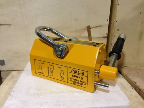 1320 Lb Lifting Magnet - Magnetic Lifter 600 KG Lifting Capacity - Magnet Lifter